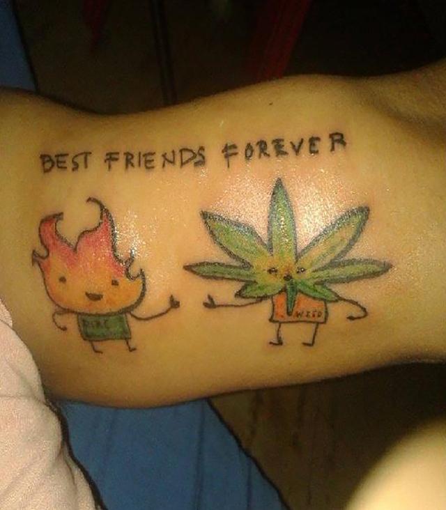 25 Tatuaży Inspirowanych Marihuaną Jamaicacompl