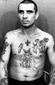 Tatuaże więziennych recydywistów z Rosji, jamaica.com.pl