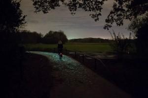 Takie rzeczy tylko w Holandii   świecąca droga rowerowa, jamaica.com.pl
