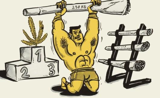 Co marihuana ma wspólnego z wysiłkiem fizycznym?, jamaica.com.pl