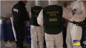 Największe laboratorium narkotykowe Hiszpanii, jamaica.com.pl